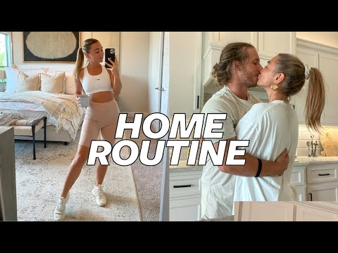 VLOG: Married Home Routine Living in Texas! | Julia & Hunter Havens