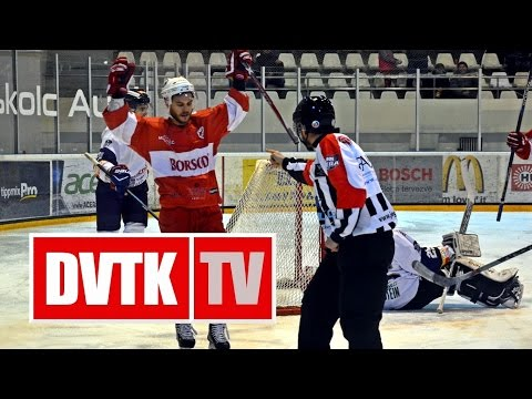 MOL 186: DVTK Jegesmedvék - HK Beograd 9-1