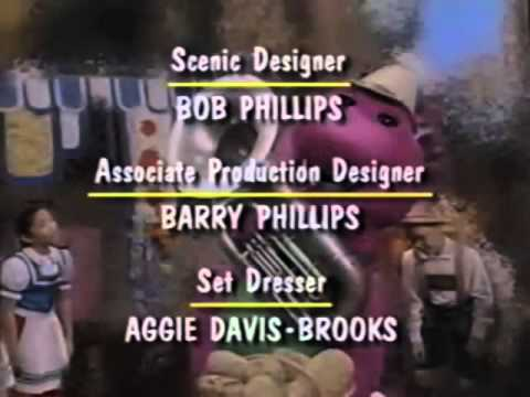 Barney's 1234 Seasons Credits