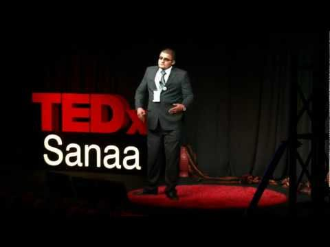 Presenting on TV against all odds: Ali Taleb Almarrany at TEDxSanaa 2012