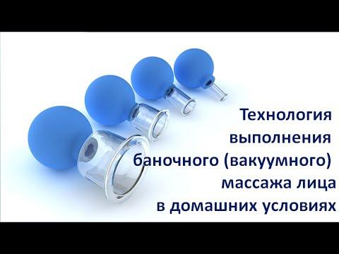 Технология выполнения вакуумного (баночного) массажа для лица. Видео №5 Вакуумный массаж лица (видео)
