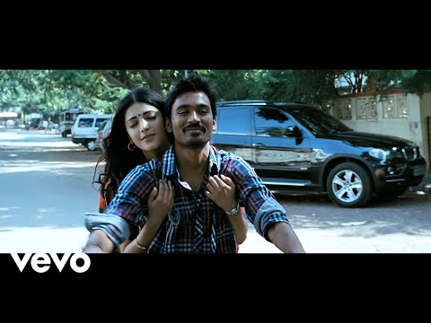 3 - Nee Paartha Vizhigal Video | Dhanush, Shruti | Anirudh