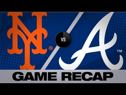 Video: 5-run 7th inning leads Braves | Mets-Braves Game Highlights 8/14/19