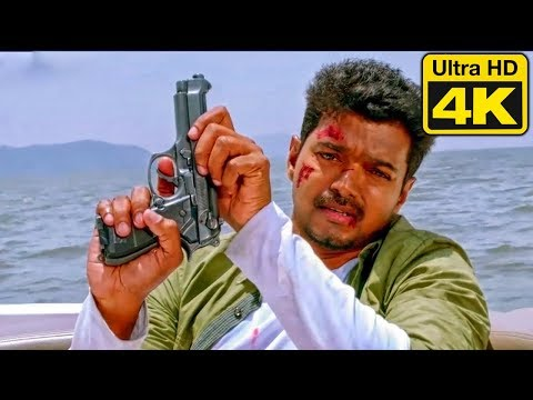 Indian Soldier Never On Holiday Best Action Scene In 4K Ultra HD   Vijay Best Action Scene