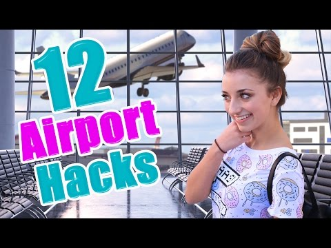 12 Airport Life Hacks Every Girl Should Know | Brooklyn and Bailey