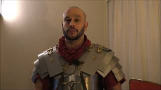 I talk about the lorica segmentata, its origins and how it compared to other Roman armour of the time.