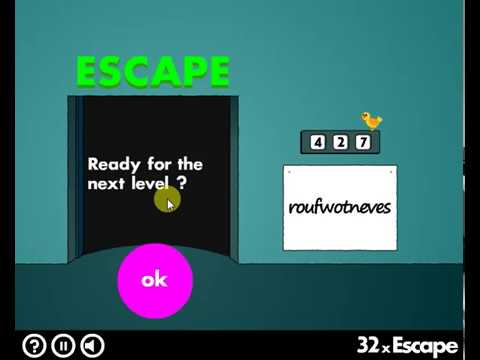 LEVEL:27-36 40x Escape (logic game)