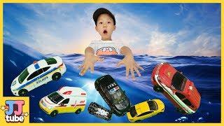 마이크로 카봇 거품세차 헬로카봇 장난감 놀이 Carbot Transformer Car Wash Toy & Play [제이제이 튜브-JJ tube]