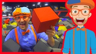 Video The Trampoline Park with Blippi | Learn Colors and more! MP3, 3GP, MP4, WEBM, AVI, FLV April 2019