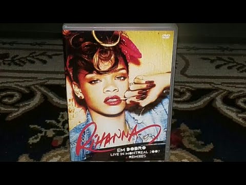 Unboxing Rihanna Em Dobro - DVD Live In Montreal 2007 + Remixes