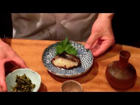 《石鯛の味噌漬け (焼き物)》・・・・  大和の 和の料理《味噌漬けの焼物》