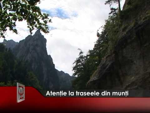 Atenţie la traseele din munţi