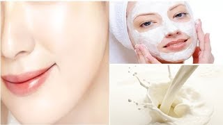 दूध से करे फेशियल | How to do Milk Facial at Home to get Fair and Glowing skin