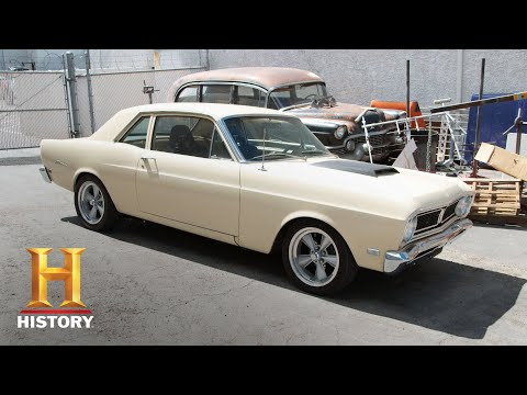 Counting Cars: Danny Envies Davey's 1969 Ford Falcon (Season 7, Episode 11) | History