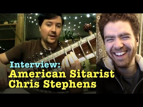 Interview With American Sitarist Chris Stephens