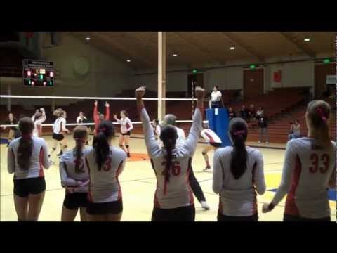 ART U vs. Dominican in Women's Volleyball from Oct. 6 2012