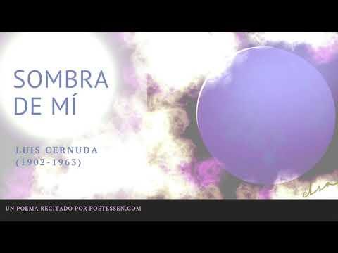 Poemas cortos - SOMBRA DE MÍ - Un poema de Luis Cernuda