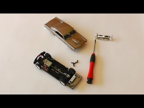 Slot Car TUNING - Pontiac GTO 1966 Umbau Anleitung - Carrera Bahn - Do it yourself No. 9