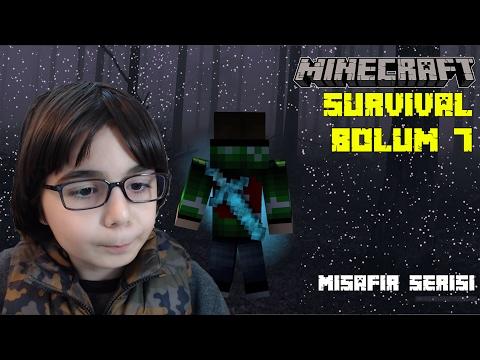 Minecraft Survival Game Serisi #S1 #7 - BKT