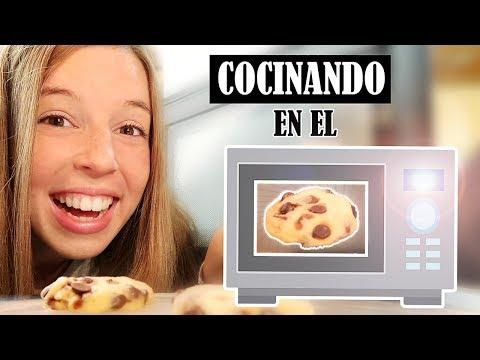 COCINANDO UN DÍA ENTERO CON EL MICROONDAS