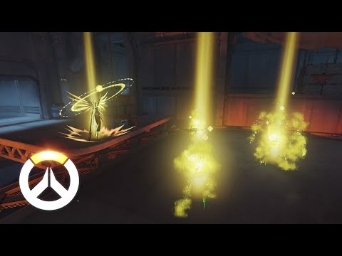 Overwatch - Mercy Gameplay Preview