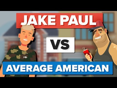 Jake Paul vs Average American - How Do They Compare? - People Comparison