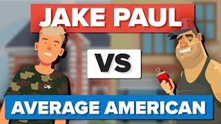 Video Jake Paul vs Average American - How Do They Compare? - People Comparison MP3, 3GP, MP4, WEBM, AVI, FLV November 2017