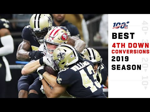 Best 4th Down Conversions from the 2019 Season