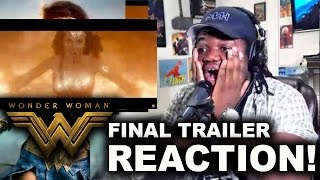 Video WONDER WOMAN FINAL TRAILER : REACTION & REVIEW! MP3, 3GP, MP4, WEBM, AVI, FLV November 2017