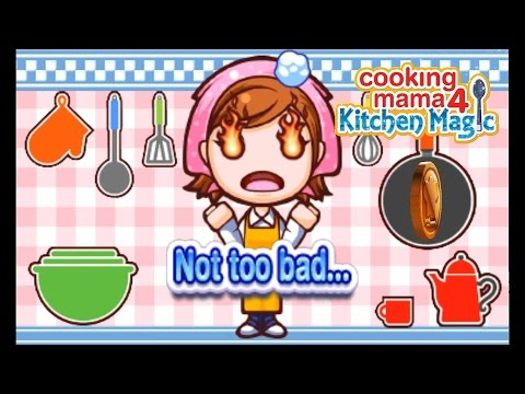 Cooking Mama 4: Kitchen Magic | Citra Emulator (CPU JIT) [1080p / 60 FPS] | Nintendo 3DS