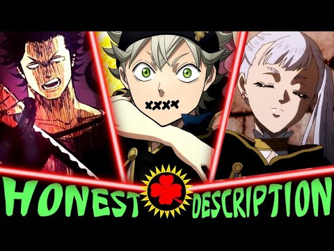Every Black Bull In Black Clover - Honest Anime Descriptions