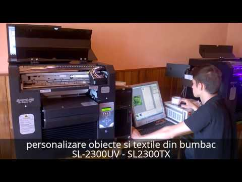 Prezentare video imprimanta tricouri SL-2300TX
