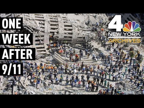 How WNBC Reported on 9/11, One Week After the Twin Towers Were Attacked   NBC New York Archives