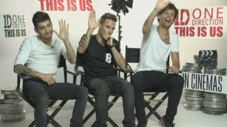 EXCLUSIVE NEW ONE DIRECTION INTERVIEW: One Direction talk films, dating movie stars, acting & games full download video download mp3 download music download