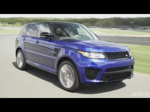 2016 Range Rover Sport SVR First Look Review