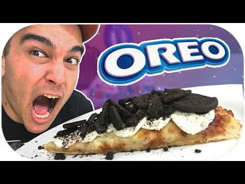 DIY CRAZY PIZZA TOPPING TASTE TEST! OREO PIZZA! *GROSS*