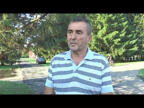 Víz alatt Nagyatád: Németh Csaba alpolgármester