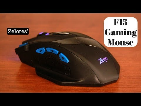 Zelotes' F15 Gaming Mouse