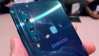 Video anteprima Samsung Galaxy A9 (2018) con 4 fotocamere posteriori