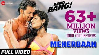 Meherbaan Full Video | BANG BANG! | feat Hrithik Roshan & Katrina Kaif | Vishal Shekhar Video