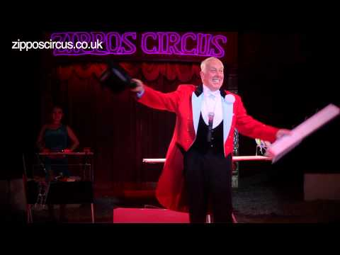 Norman Barrett MBE and his amazing budgies: Zippos Circus 2012