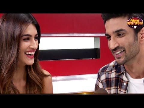 Sushant Singh Rajput & Kriti Sanon Laugh Off Their