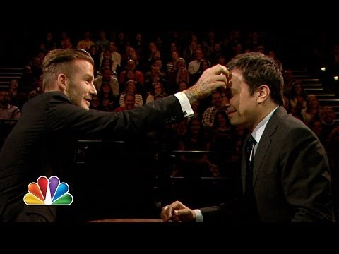 Egg Russian Roulette with David Beckham (Late Night with Jimmy Fallon)