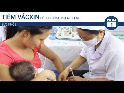 Tiêm vắcxin để chủ động phòng bệnh | VTC1 - Thời lượng: 83 giây.