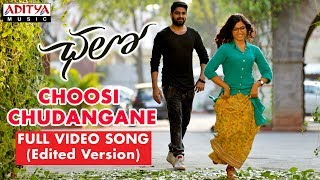 Video Choosi Chudangane Full Video Song ( Edited Version)  || Chalo Movie || Naga Shaurya, Rashmika MP3, 3GP, MP4, WEBM, AVI, FLV Oktober 2018
