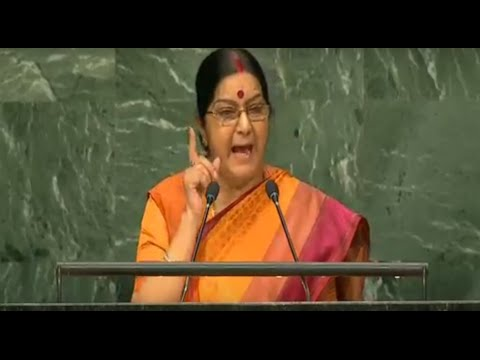 Smt. Sushma Swaraj Speeches