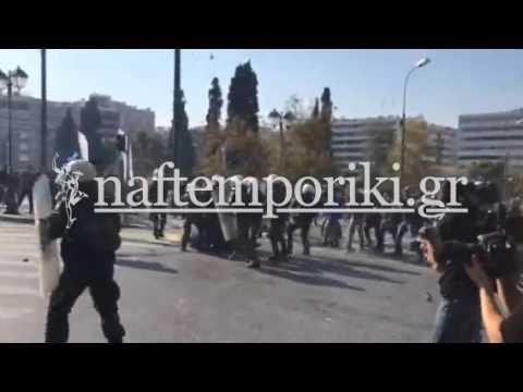 Τεταμένη η ατμόσφαιρα στο αγροτικό συλλαλητήριο