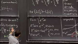 Lec 21   MIT 18.01 Single Variable Calculus, Fall 2007