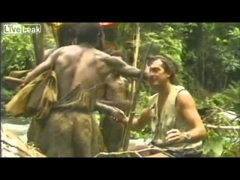 Uncontacted Tribes - http://HumansAreFree.com ~One Planet, One Specie, One Love~ Tribe on Papua New Guinea meets white man for the first time. Filmed in 1976. One segment of a lo...