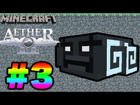 【2人実況】パンツとサルの浮遊Minecraft【Aether】#3